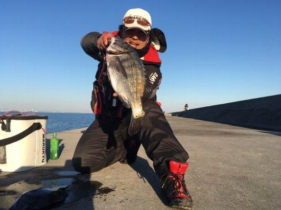 2019年01月06日(日曜日)|クロダイ・チヌ(ウキダンゴ釣り)|静岡県 – 浜名湖|ウキ紀州・ダンゴ|フィールドスタッフ佐々木 博司