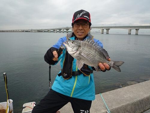 2020年03月30日(月曜日)|クロダイ・チヌ(フカセ釣り)|愛知県 – 常滑海釣り公園|ウキフカセ|フィールドテスター中村 輝夫