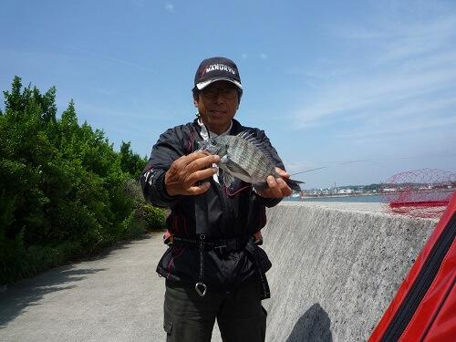 2020年05月22日(金曜日)|クロダイ・チヌ(ウキダンゴ釣り)|愛知県 – 常滑港|ウキ紀州・ダンゴ|フィールドテスター中村 輝夫