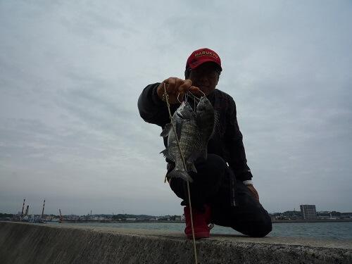 2020年05月18日(月曜日)|クロダイ・チヌ(ウキダンゴ釣り)|愛知県 – 常滑港|ウキ紀州・ダンゴ|フィールドテスター中村 輝夫