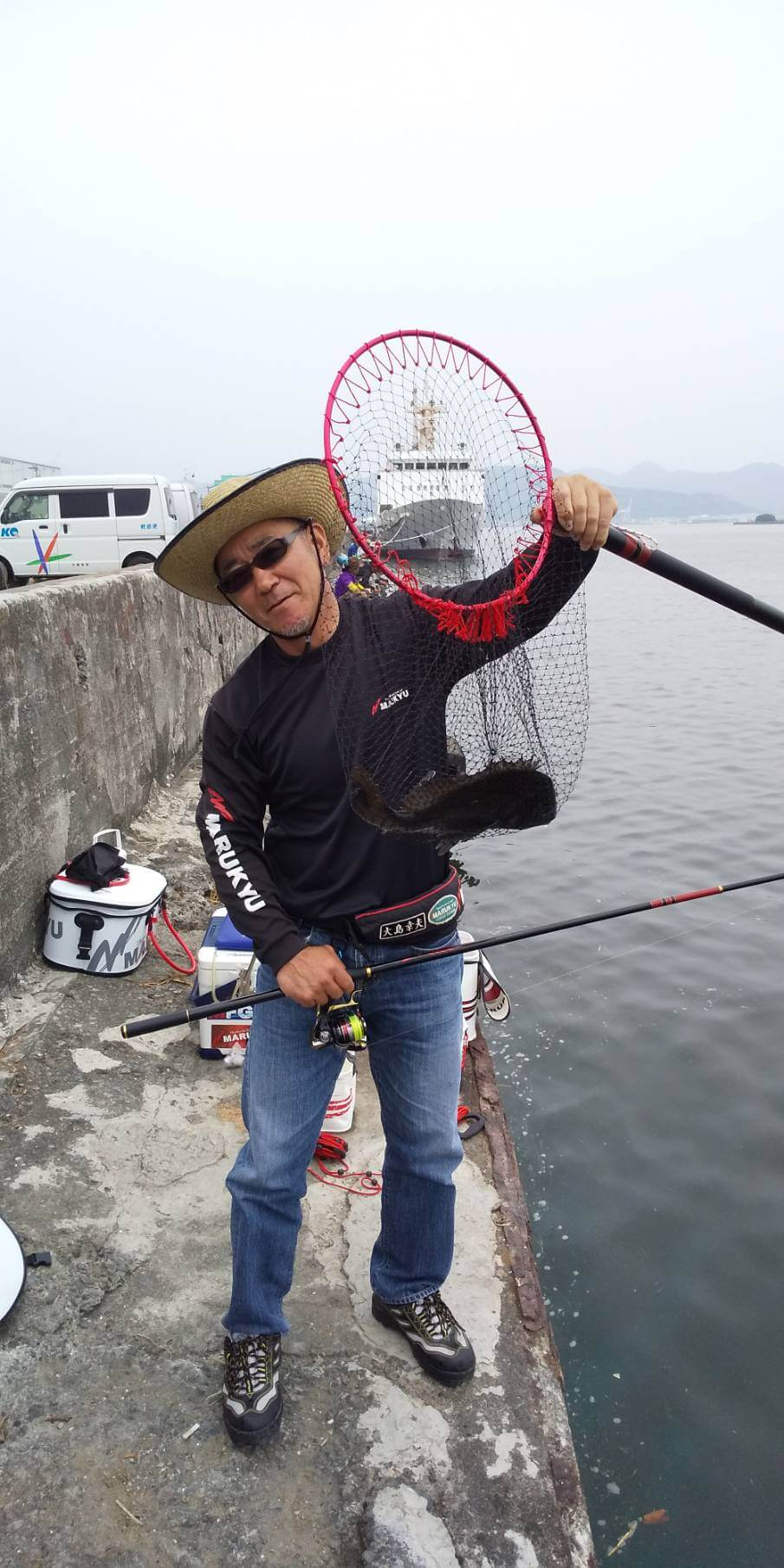 2020年06月27日(土曜日)|クロダイ・チヌ(ウキダンゴ釣り)|静岡県 – 静浦港|ウキ紀州・ダンゴ|フィールドテスター大島 幸夫