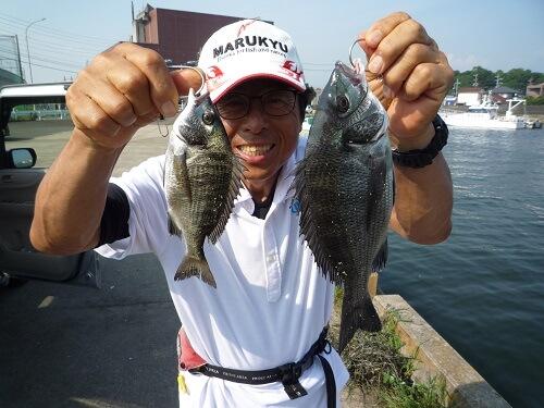 2020年08月04日(火曜日)|クロダイ・チヌ(ウキダンゴ釣り)|愛知県 – 常滑港|ウキ紀州・ダンゴ|フィールドテスター中村 輝夫