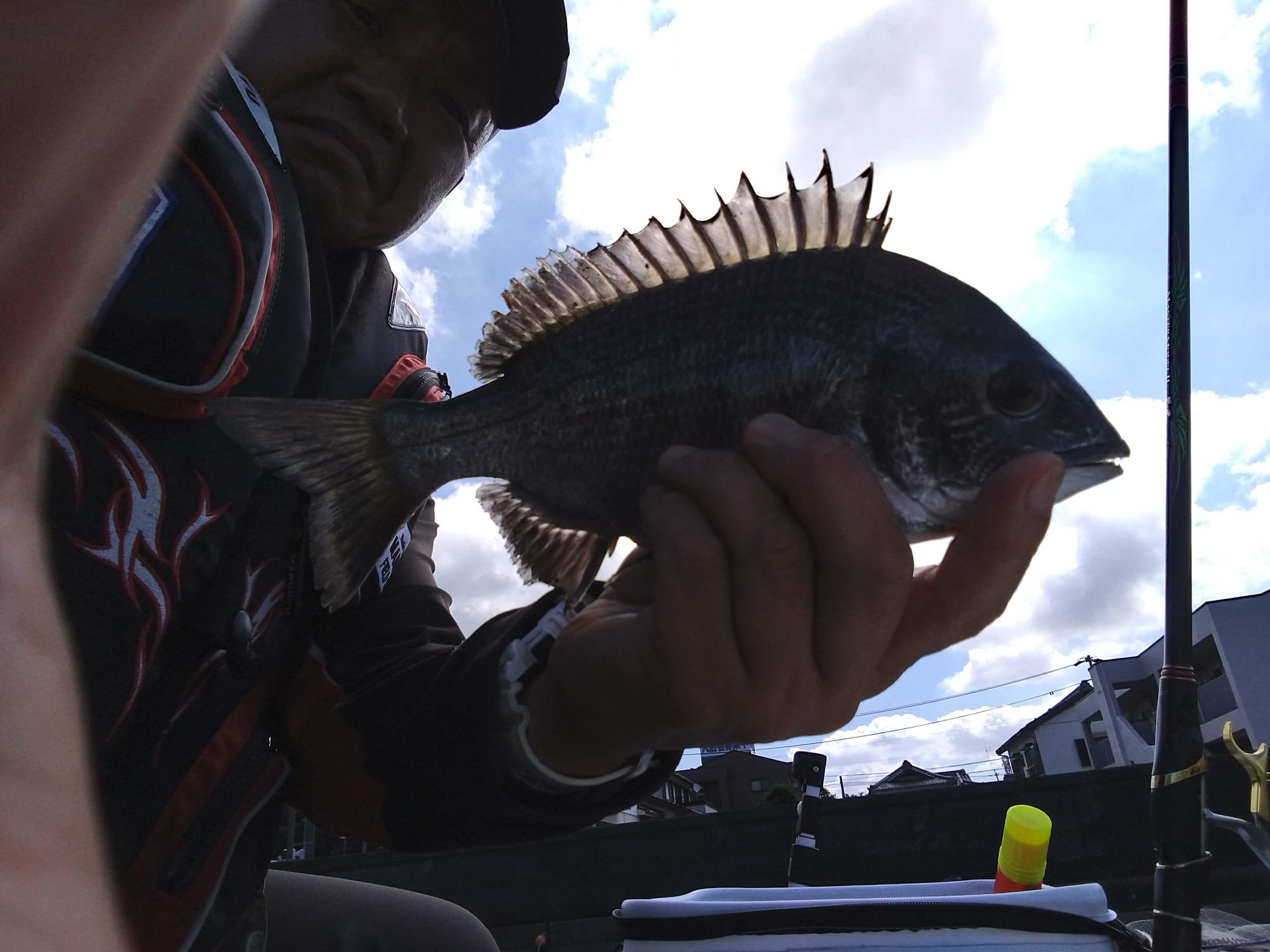 2021年07月19日(月曜日)|クロダイ・チヌ(フカセ釣り)|愛知県 – 常滑港|ウキフカセ|フィールドスタッフ石黒 昌浩