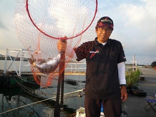 2021年08月02日(月曜日)|クロダイ・チヌ(ウキダンゴ釣り)|愛知県 – 常滑港|ウキ紀州・ダンゴ|フィールドテスター中村 輝夫